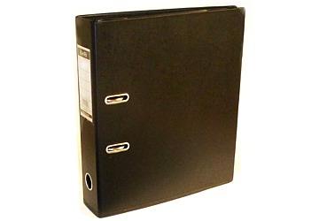 Bibliorato A4 color negro forrado en PVC lomo de 7 cm Bantex