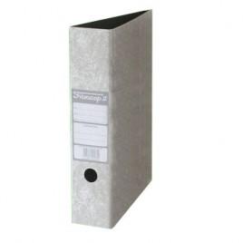 Bibliorato A4 de carton gris perla