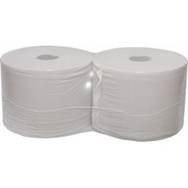 Bobina Eco de papel industrial 25cmm x 400 mtrs x 2 unidades