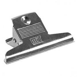 Broche manito metalico de plata 75 mm
