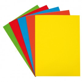 Cartulina A4 color x 25 unidades