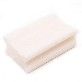 Jabon en pan de lavar blanco
