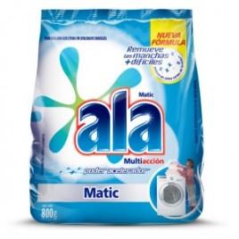 Jabon en polvo Ala Matic x 800 grs
