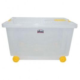Living Box alto contenedor palstico con rueditas colombraro