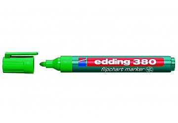 Marcador al agua punta redonda Edding 380 – verde