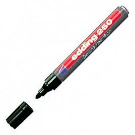 Marcador recargable para pizarra blanca color negro E250