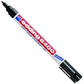 Microfibra permanente con punta fina   punta especial para escribir sobre CD mod. E8400