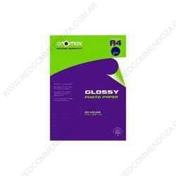 Papel fotografico rexon photo inkjet glossy T/A4 180G x 25 unidades
