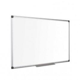 Pizarra blanca de laminado plástico c/ marco aluminio medida 60 x 90 cm