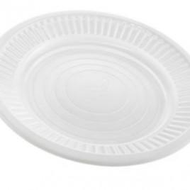 Platos 17 cm diametro descartables Ban Plast Caja x 100