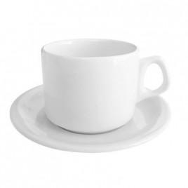 Pocillos de cafe con plato x 12 unidades