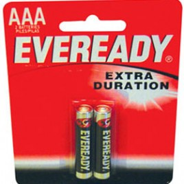 Pilas Alcalinas AAA x 2 – Eveready
