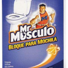 Pastilla inodoro adhesiva Mr Musculo x 3 unidades