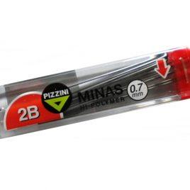 Tubo de minas Pizzini  0 5 mm  HB x 12 unidades