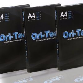 Etiqueta Ori Tec laser A4 210 X 297 X 25 HS