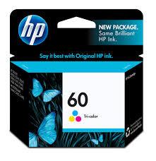 Cartucho de tinta HP Original CC641 WL Tricolor HP 60