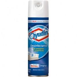 Desinfectante en aerosol ayudin x 360 cc.