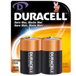 Pilas Duracell D x 2