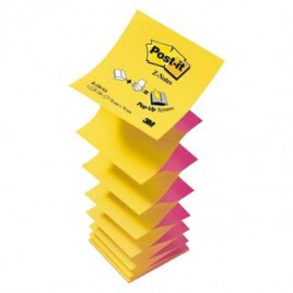 Notas POST IT POP UP R330 76 x 76 x 1000 amarillo
