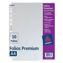 Folio A4 Premium x 10 unidades