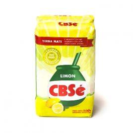 Yerba CBSE con limon x 500 gr
