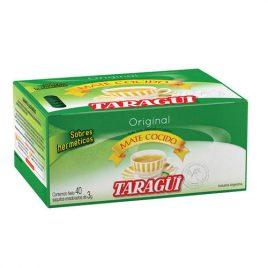 Mate cocido ensobrado Taragui x 40 unidades