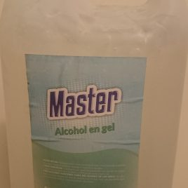 Alcohol en gel x 5 litros