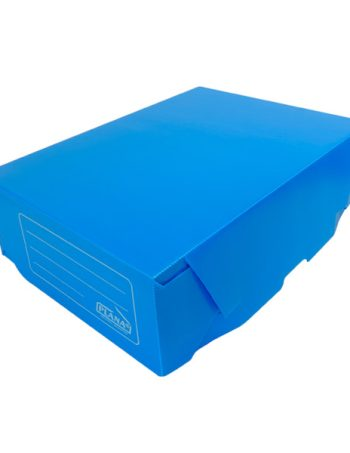 Caja Archivo Plastico Azul
