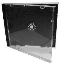 Caja de CD plastica