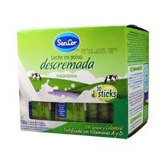 Caja sobre de leche descremada Sancor 5 grs x 100 unidades