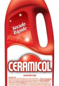Cera Ceramicol roja x 900 cc
