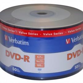 DVD Verbatin bulk x 50