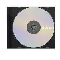 DVD con caja de acrilico