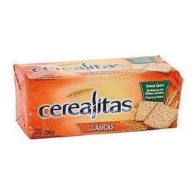 Galletitas cerealitas x 194 grs