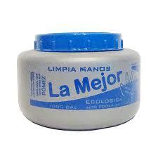 Jabon Limpiamanos marca La Mejor