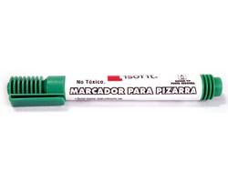 Marcador para pizarra Isofit punta redonda color verde
