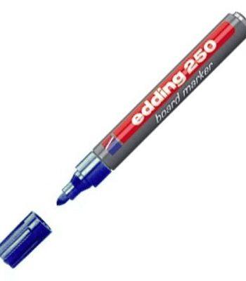 Marcador recargable para pizarra blanca color azul E250