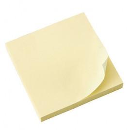 Notas autoadhesivas  Amarillas 100 x 75 mm. 100 hojas.