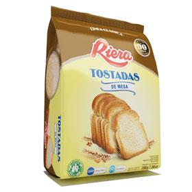 Paquete tostadas marca Riera