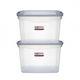 Recipiente plastico megacol box x 20 litros COD 9415