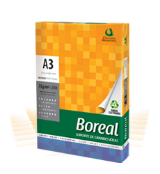 Resma A3 75 grs Boreal