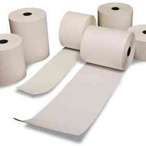 Rollo de papel doble quimico 76 mm x 30 mtrs