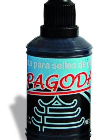 Tinta Pagoda para sellos NEGRO