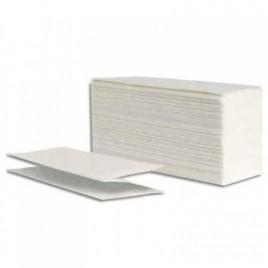 Toalla intercalada blanca  4 pliegos x 2500 unidades