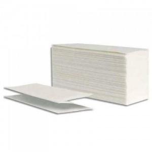 Toallas de manos blancas intercaladas 6 pliegos
