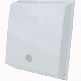 Dispenser para toallas de manos intercaladas blanco inyectado