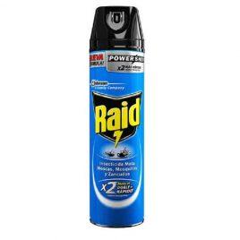 Insecticida Raid azul  MMM x 360 c.c