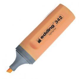 Resaltador Edding 342. Color Naranja