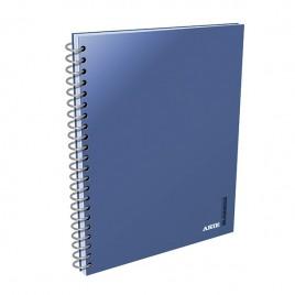 Cuaderno A5 c/ espiral cuadriculado x 80 Hjs