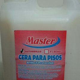 Cera incolora Master x 5 litros
